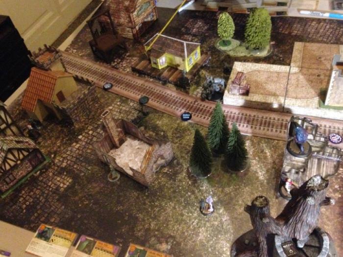 Malifaux battle report