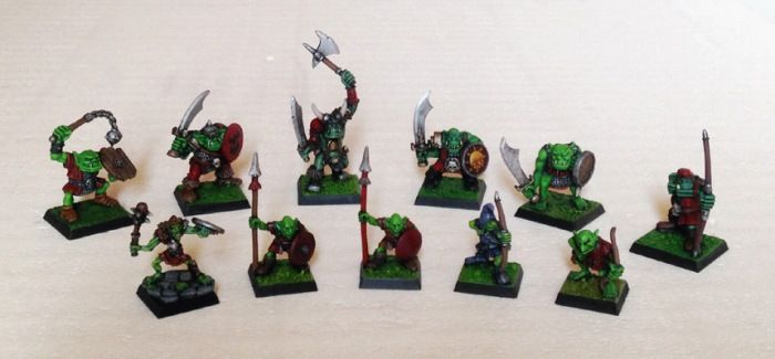 Orchi Vintage - warband